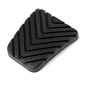 Sourcingmap 32825-36000 Goma Negro Chapa de Pedal de Embrague Freno para Coche