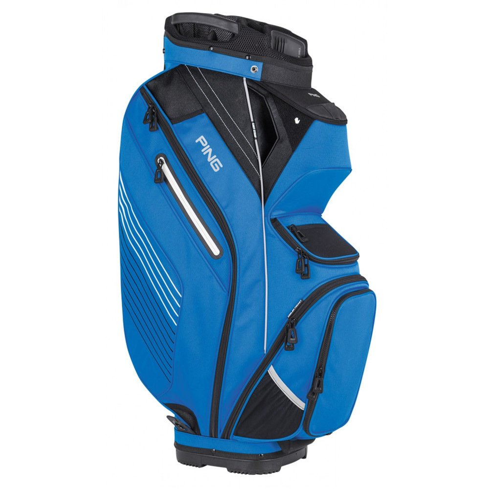 PingゴルフメンズPioneerカートバッグ B01MAW9B7T Birdie Blue/Black/White Birdie Blue/Black/White