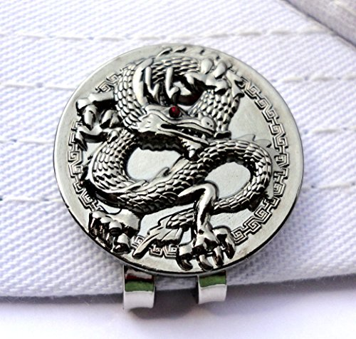 Dragon Golf Ball Marker and Magnetic Hat Clip