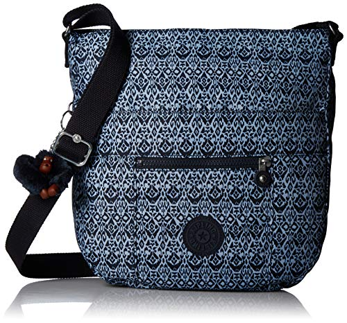 Crossbody Saddle Bailey Geometric Bliss Closure Geometric Zip Bag Adjustable Kipling Strap Bliss wZIW7qwR
