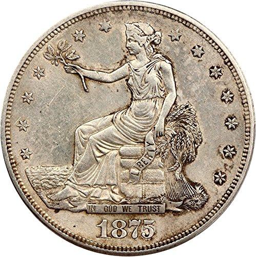 1875 S Trade Dollars Dollar 92 PCGS