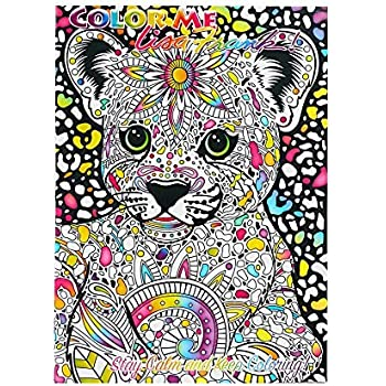 lisa frank color me coloring book hunter - Lisa Frank Coloring Books