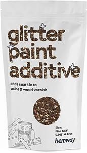 Hemway Glitter Paint Additive FINE 1/64