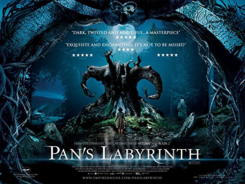 Pans Labyrinth Fridge Magnet 6x8 Movie Poster Magnetic Canvas Print