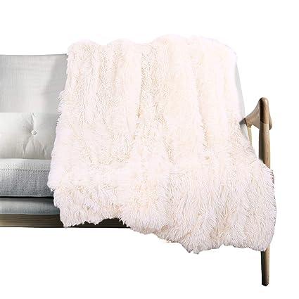 Amazon.com: VKSLEEP - Manta de pelo largo muy suave, de piel ...