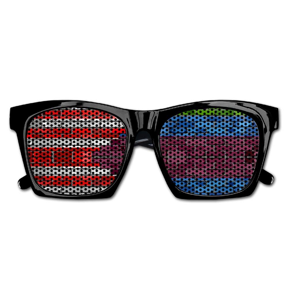 Xing Stars Colorful Summer Unisex American Flag Gay Rainbow Fashion Party Costume Sunglasses