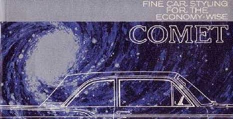 Amazon com: 1960 Mercury Comet Sales Brochure Literature