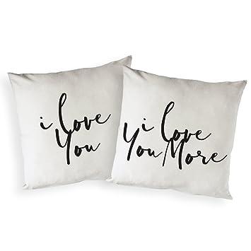 Amazon.com: The Cotton & Canvas Co. - Funda de almohada ...