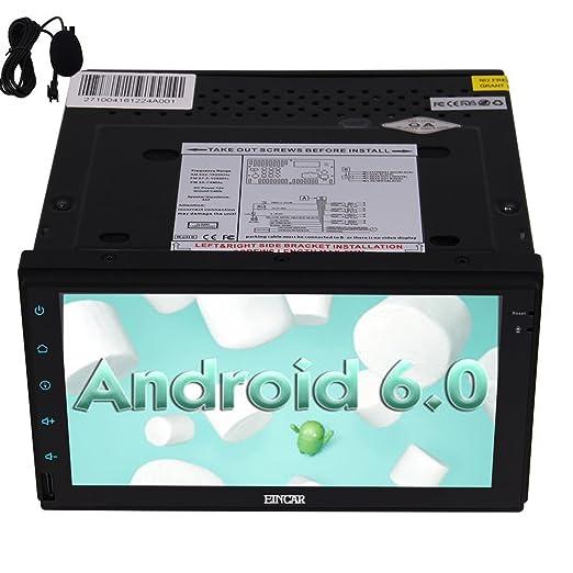 10 opinioni per Eincar 7 pollici Android 6.0 Stereo Marshmallow auto 2 DIN in precipitare GPS di