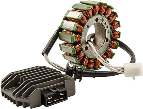 Voltage Regulator Rectifier For Yamaha YZF R6 1999 2000 2001 2002 Kit Stator