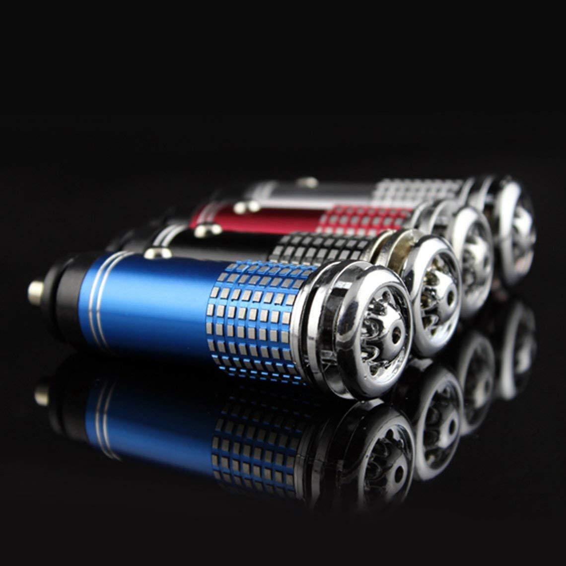 Momorain 12V Car LED Light Mini Air Anion Oxygen Bar Design Luz Interior Suministros de decoraci/ón del autom/óvil Accesorios para autom/óviles