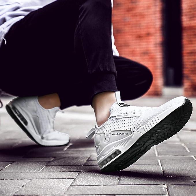 Sumeiwilly Sneaker Herren Damen Sport Flach Mesh