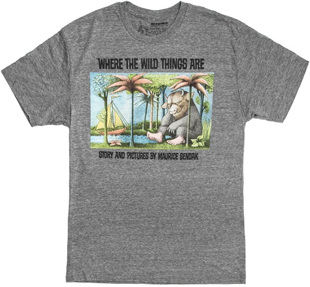 Out of Print Unisex/Men's Classic Children's Book-Themed Tee T-Shirt