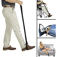 Lifting Auxiliary Belt,Handicap Lifter Leg Lifter Strap Rigid Foot Lifter,Elderly Handicap Disabilit Lifting Devices Foot Loop Mover Hip & Knee Replacement