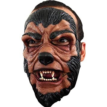 Máscara de hombre lobo Halloween