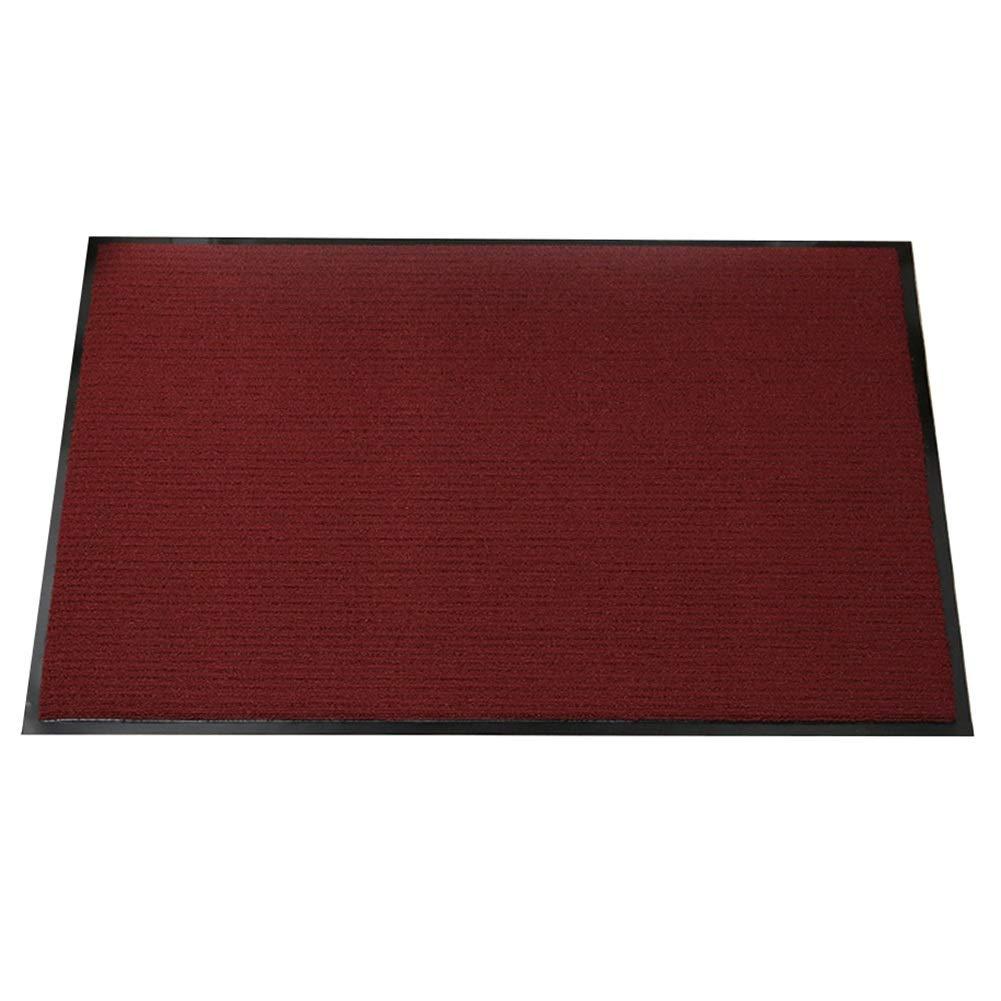 家の装飾のための横滑り防止カーペット、 PVCエリアラグ 赤い柔らかい屋内現代のため (サイズ さいず : 120x250cm) 120x250cm  B07NMN7FPZ