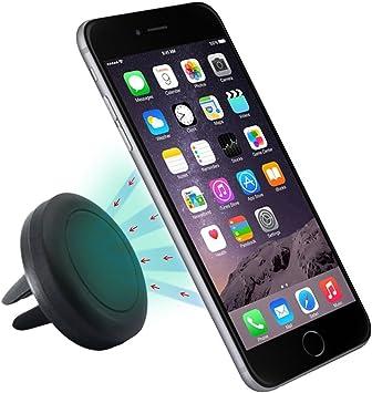 Sannysis Air magnético Soporte de Télefono para Coche de Smartphone para iPhone 6 / 6 Plus / 5 /