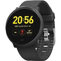 TFHEEY Pulsera Monitor de Actividad, Impermeable Reloj Inteligente con Cronómetro, Pulsera Actividad Inteligente para Deporte, Reloj de Fitness con Podómetro Smartwatch Mujer Hombre niños para Xiaomi HuaweiI Teléfono
