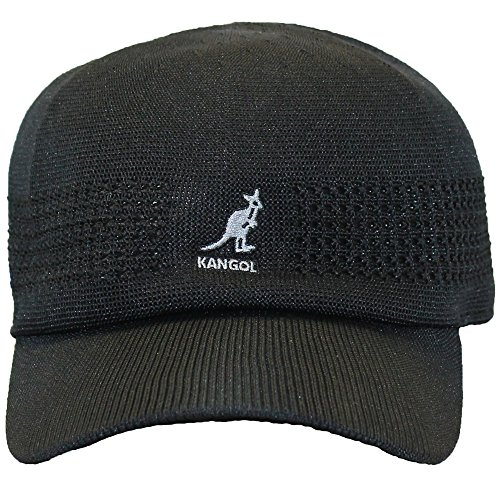 (Kangol Men's Tropic Vent Air Space Cap, Black, Medium)