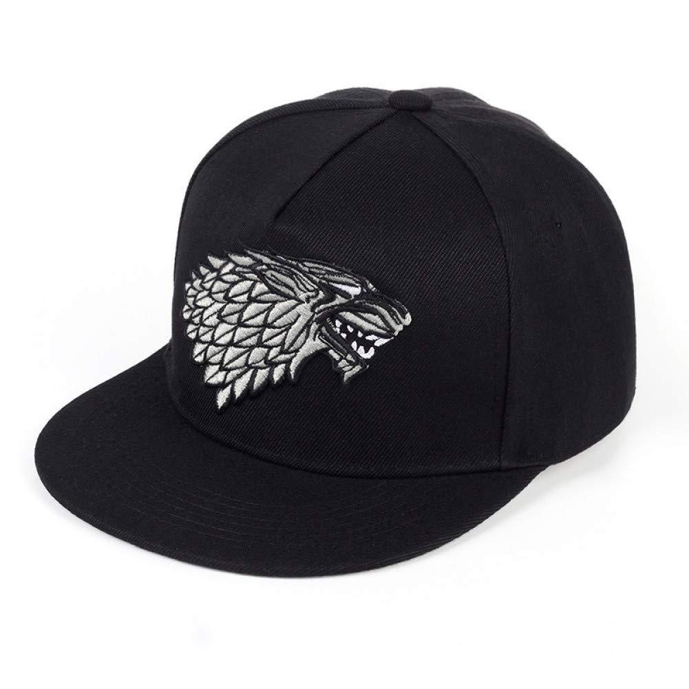 Yosrab Men Women Baseball Cap Game Of Thrones Unisex Embroidery Hip Hop Dance Outdoor Sports Sun Hat