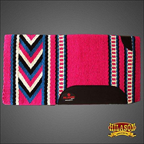 (HILASON Show New Zealand Wool Saddle Blanket Western Barrel Racing Rodeo)