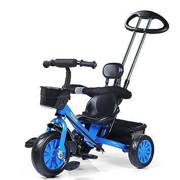 Rueda de espuma de triciclo para niños Asiento de plástico para bicicletas de 1 a 5 ...