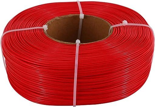 3D Solutech Impresora 3D rojo real Masterspool PLA Filamento 1.75 ...
