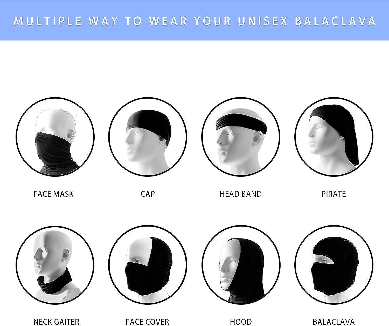 Face Scarves,Multi-Purpose Headband Bandana for Men Women Neck Gaiter Scarf,Head Scarf,Windproof Sunscreen Bibs Bandana