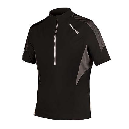 Amazon.com   Endura Hummvee Lite Short Sleeve Cycling Jersey Black ... 6ec7f5bf0