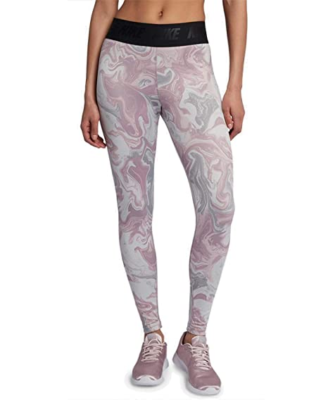 low cost wholesale outlet new collection Nike Leggings - Sportswear Leg-A-See Pink/Multicolor/Black ...