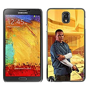 Stuss Case / Funda Carcasa protectora - G T A - Franklin Poster - Samsung Note 3 N9000