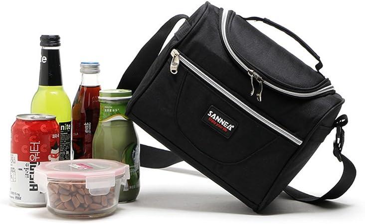 WHT Borse frigo piccole Borsa da pranzo fresca Borse frigo pranzo ufficio Borsa da pranzo termica Tote da pranzo per bambine Adulti Rosa