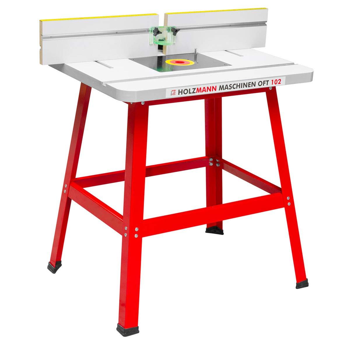 Fresadora de mesa profesional de Holzmann para fresadora rebajadora de mesa. OFT 102.