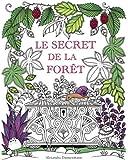 Le secret de la forêt: Cherche les bijoux cachés. Coloriages anti-stress pour adultes.
