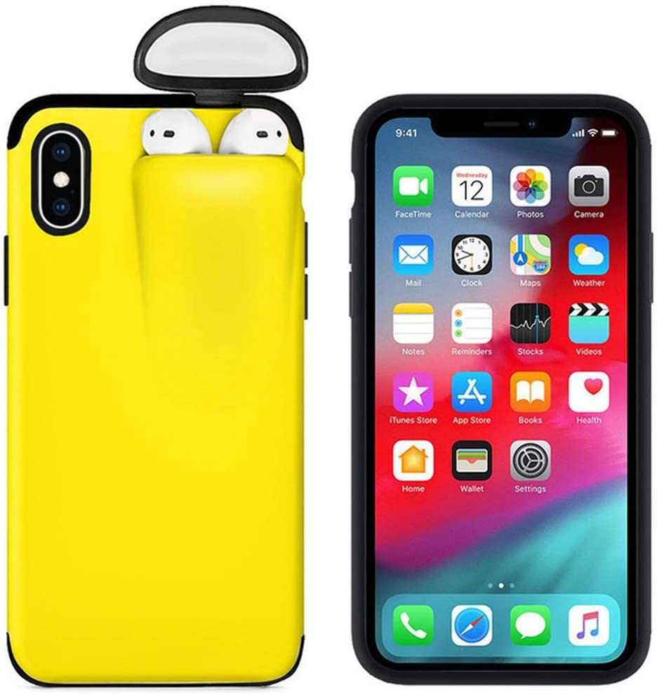 Amazon Com 2 In 1 Phone Case For Iphone 11 Case And For Airpods