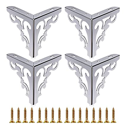 Amazing Tlbtek 4Pcs 12Cm Metal Furniture Legs Feet 4 7 Inch Height Hollow Out Modern Sofa Cabinet Legs For Replacement Of Table Dresser Wardrobe Squirreltailoven Fun Painted Chair Ideas Images Squirreltailovenorg