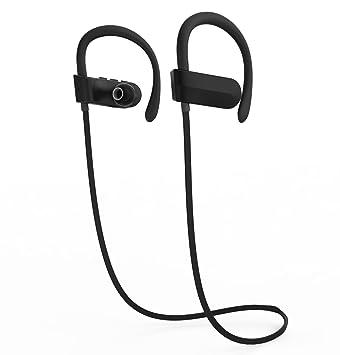 Auriculares inalámbricos de gimnasio, auriculares Bluetooth para correr, deportes auriculares Bluetooth, TLL EST