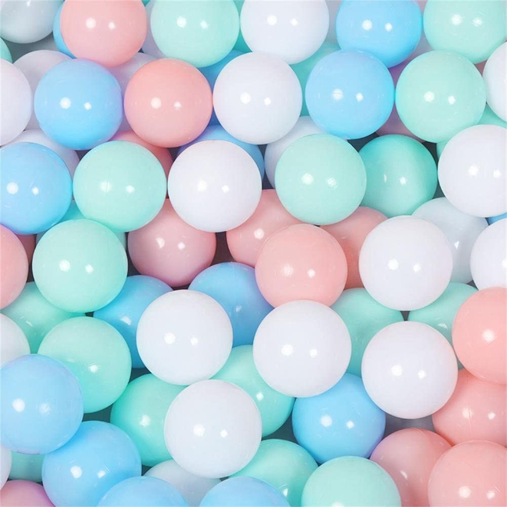 Pit Balls 100pcs Eco-Friendly Plastic Ocean Swimming Pit Balls Toys Soft  5.5cm