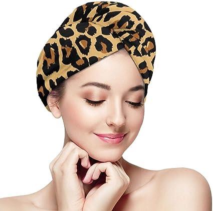 bagno cucina Asciugamani in morbida microfibra con stampa leopardo ad asciugatura rapida per casa palestra sport RELEESSS viaggi yoga uso multiuso spa