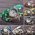 PromiseU Fashion Cross Bracelet Watch Quartz Movement Wrist Watch