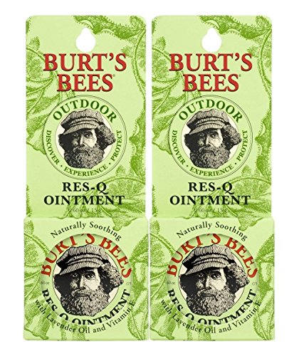 Burt's Bees Res-q Ointment 0.6 Oz (15 G) pack of 2