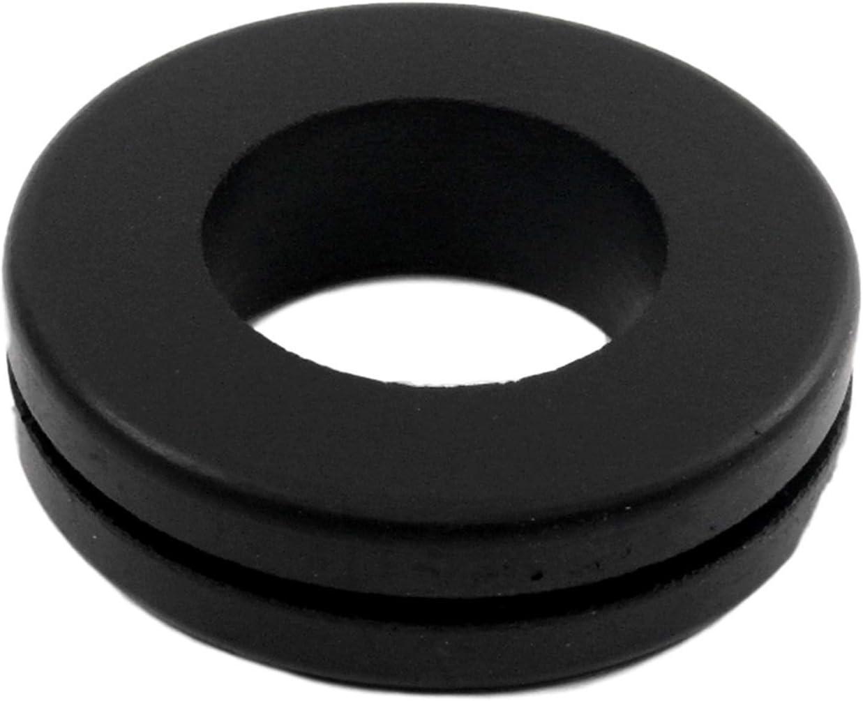 """Rubber Grommets 7/8"""" Inner Diameter - Fits 1 1/4"""" Panel Hole (2)"""