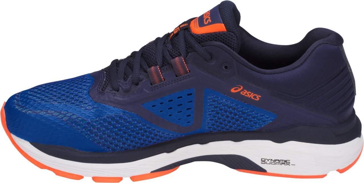 ASICS GT-2000 6 Men's Running Shoe, Imperial/Indigo Blue/Shocking Orange, 6.5 W US by ASICS (Image #2)