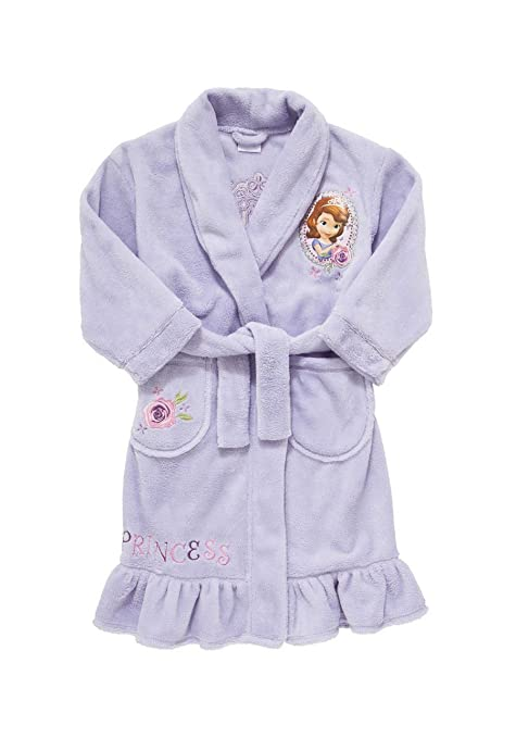 Girls\' Sofia the First Bathrobe,dressing gown,sleep wear,lounge wear ...