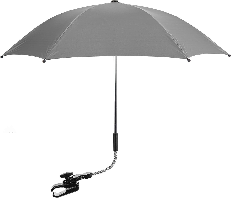 Baby Parasol Umbrella Compatible with Silver Cross Canopy Protect Sun /& Rain
