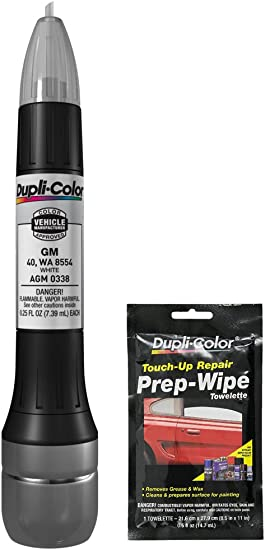 Dupli-Color ATY1626 White Pearl Toyota Exact-Match Scratch Fix All-in-1 Touch...