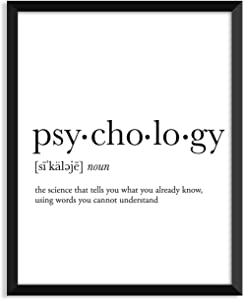 Serif Design Studios Psychology Definition - Unframed Art Print Poster Or Greeting Card