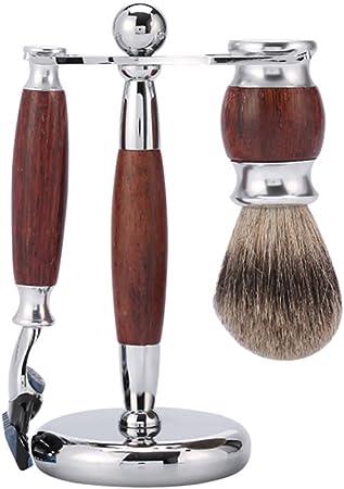 Afeitar Afeitadora Hombres Afeitadora Manual Kit Cepillo De Lámina ...