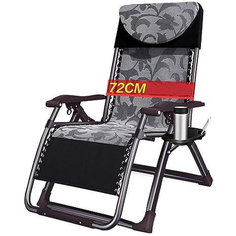 Amazon.com: Axdwfd - Silla reclinable plegable para jardín ...