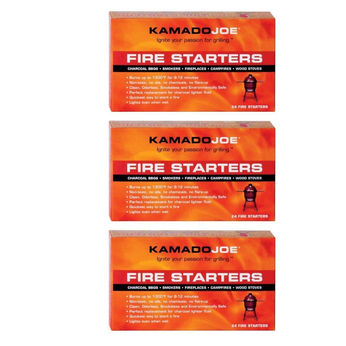Kamado Joe KJFS Fire Starters, 24-Count (Fire Starters (72-Count))